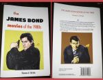The James Bond movies from the 1980's book covers by Lannytorres
