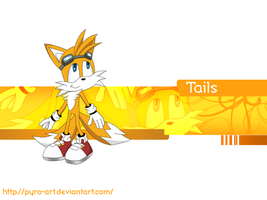 Tails wallapaper by pyro-art