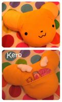 Kero Plush Pillow by kickass-peanut