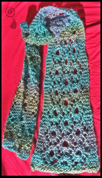 Lace Scarf by Amif