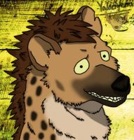 YalociYena the spotted hyena by YalociYena