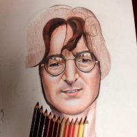 WIP: John Lennon by pseppy1