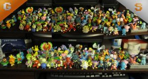 All 100 Pokemon GS Figurines by Kirbopher15