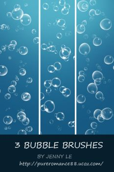 Bubble brushes by JennyLe88