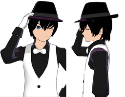 MMD Fedora - DL by sonictheunknown