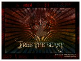 Free the Beast Poster by Trookeye