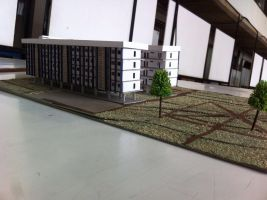 Architectural model 1 - project 1 by Rafiukis
