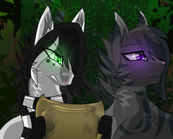 Commission- Lost in the forest by XycuroLawls