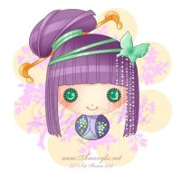 Little Dollie Chinoise by Nailyce