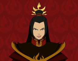 Fire Lord Azula Close-Up by invisiblejohnny