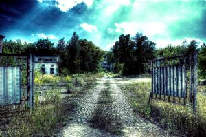 Russian Barracks Gate by Diesel74656