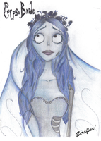 Emily the Corpse Bride by LucieKJ