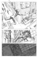 Daredevil / Superior Spiderman Sample  01 by mikemaluk