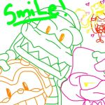 Chaotix smile by Tabersnack
