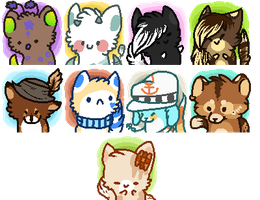 PC   Page Buttons Batch 1 by twinelights