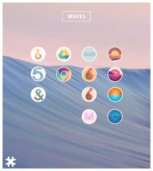 WAVES Icons by ptrouble