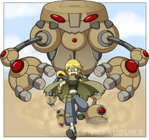 Giant Robots anyone? by CubeWatermelon
