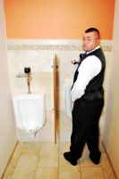 a Groom has to Pee too by SublimeBudd