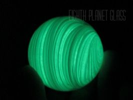 EighthPlanetGlowMarble2 by AmyLarcombe