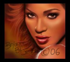 beyonce by dypsomaniart