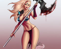 Bloody Axe - Collab by DJOK3