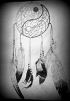 YinYang Dreamcatcher by liloved1