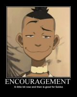 ATLA Sokka motivational poster by jediwillowgrey
