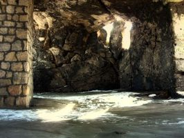 stones, cave by lumiere81