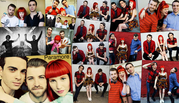 Paramore photoshoot 2011 background by TaschaXX