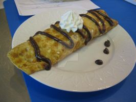 Chocolate Fudge Crepe by TheNerdChef