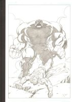 Hulk smash Superman by LakLim