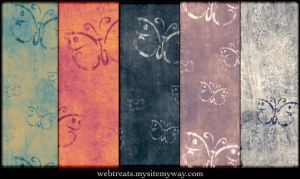 Antique Butterfly Patterns by WebTreatsETC