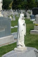 Mount Olivet Cemetery Mary 23 by Falln-Stock