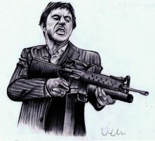 Scarface by AZIZA-FEMI