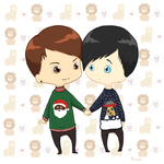 Phan Christmas by impalardis