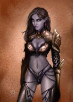 Dark Elf Lineage II by Esther-Sanz