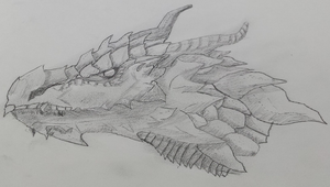Dragon Head by masterhand54