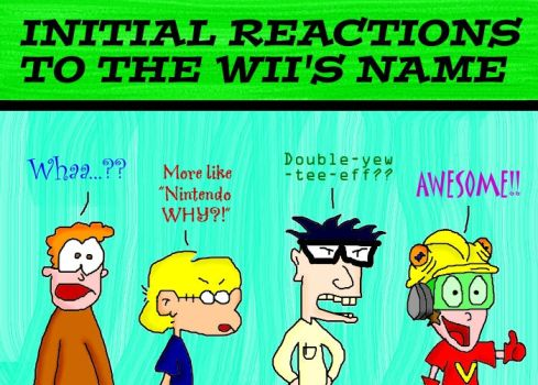 Reactions to Wii by Redhead64