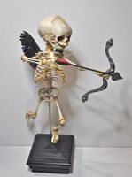 Cupid Skeleton by DellamorteCo