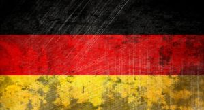 flag of Germany (grunge) by flagArtist
