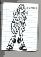 Animated Decepticons: NIGHTRACER by VectorMagnus2011