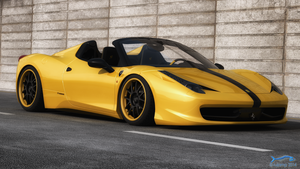 Ferrari 458 Spider Hamann by RJamp