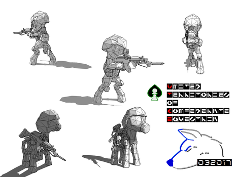 Confederate Assault Trooper WIP2 by lonewolf-R87