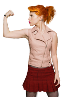 Hayley Williams (Paramore) PNG [render] by GAJMEditions