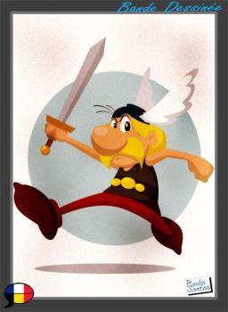 Asterix by Captain-Paulo