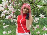 Sakura Haruno Cosplay by Kuroi Marron by Kuroi-Marron