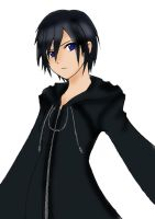 Xion colored using GIMP by akatsuki-girl-krista