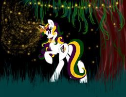 The Bayou Princess... Princess Mardi Gras by AppleCider1412