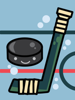 Stick and Puck by sylview