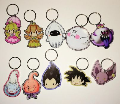 Keychains for sale! by VVednesdays